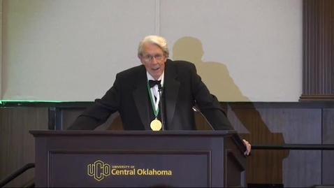 Thumbnail for entry Oklahoma Higher Education Hall Of Fame Induction 11-05-2018