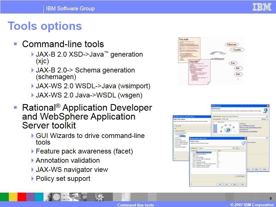 Command line tools - IBM MediaCenter