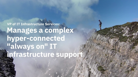 Thumbnail for entry Manage a complex hyper-connected IT infrastructure support_EN