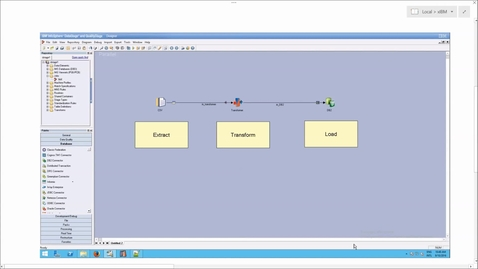 Thumbnail for entry DataStage: Understanding Transform: ETL (Extract Transform Load)
