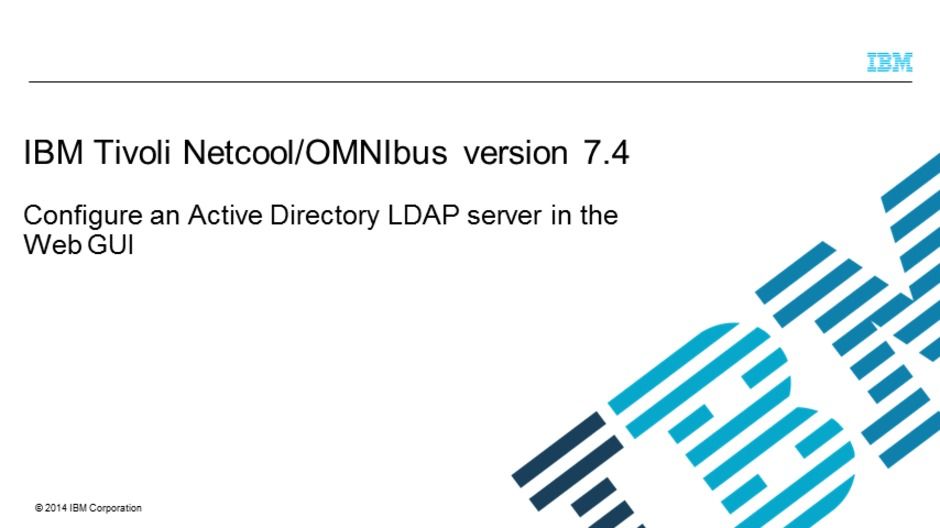 video thumbnail for configure an active directory ldap server in the web gui