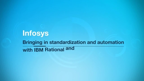 Thumbnail for entry Infosys Ltd. improves time to market up to 30 percent with IBM UrbanCode