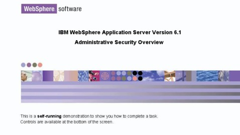 Thumbnail for entry Administrative security overview