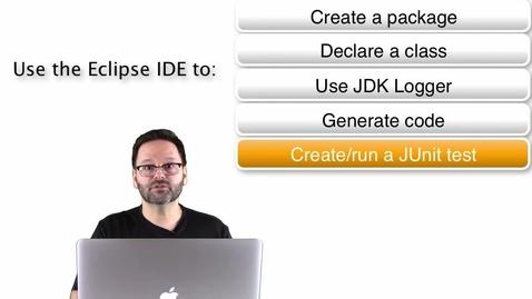 Thumbnail for entry Java 编程入门 - 您的第一个 Java 类
