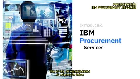 Thumbnail for entry IBM Procurement Services Overview Co-Es