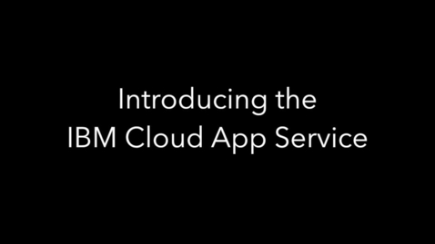 Thumbnail for entry How to create a cloud native app in less than 5 minutes
