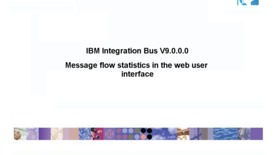 Thumbnail for entry Message flow statistics in the web user interface