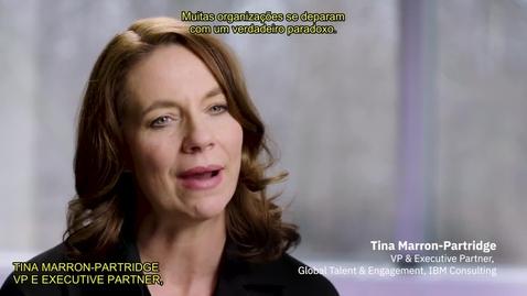 Thumbnail for entry Tina Marron-Partridge sobre a oportunidade que os CHROs enfrentam hoje