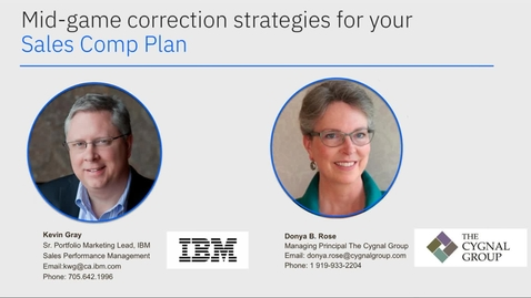 Thumbnail for entry Mid-game correction strategies for your sales compensation plan