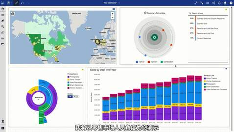 Thumbnail for entry What's new in IBM Cognos Analytics reporting