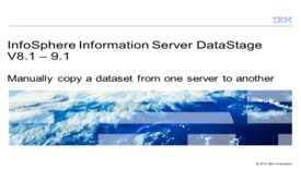 Thumbnail for entry Manually copy a dataset from one server to another