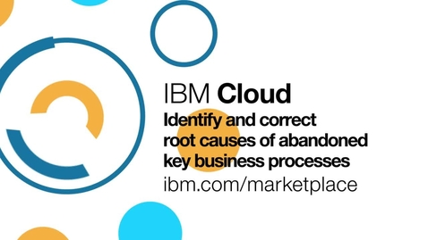 Thumbnail for entry Learn why customers abandon online purchases with IBM Tealeaf