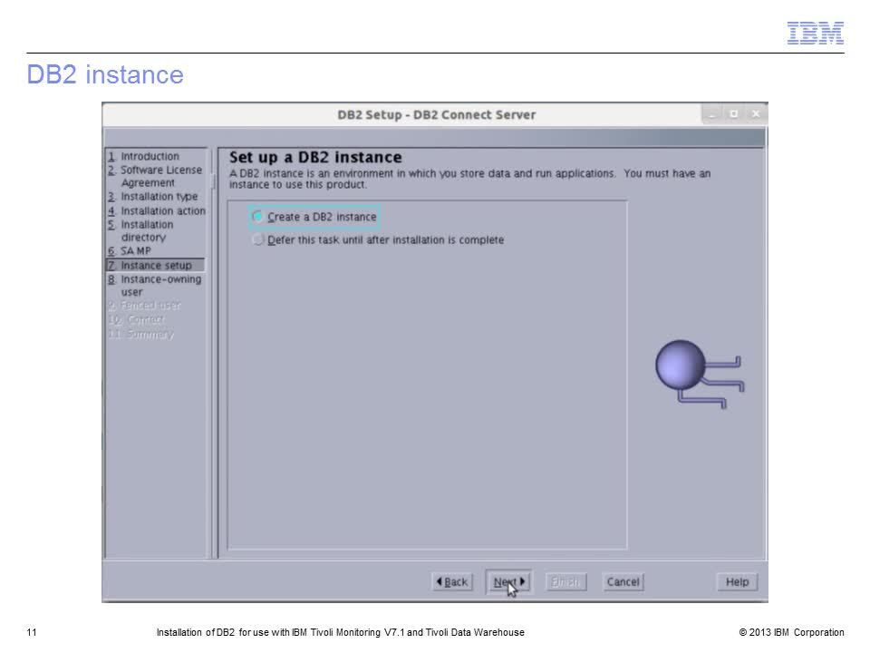 Installation Of Db2 For Use With Ibm Tivoli Monitoring V71 And