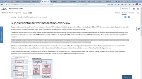 Thumbnail for entry How to Install ICFM 2.0.0.1 - Part 3 - Supplemental Server