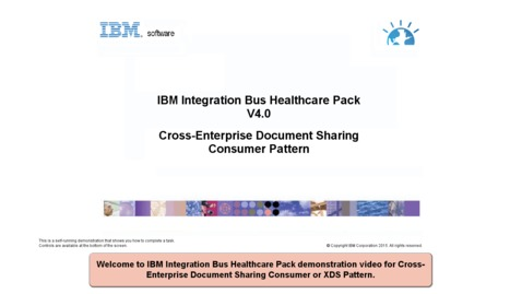 Thumbnail for entry Cross-Enterprise Document Sharing Consumer pattern