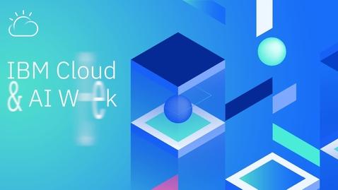 Thumbnail for entry La Inteligencia Artificial no es magia, es una realidad en América Latina - IBM Cloud & AI Week 2020