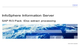 Thumbnail for entry SAP R/3 Pack: IDoc Extract Processing