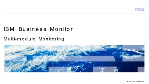 Thumbnail for entry Multi-module monitoring using the global monitoring context wizard