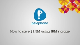 Thumbnail for entry Pelephone is saving BIG with IBM XIV SVC and Real-time Compression