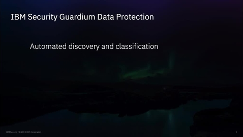 Thumbnail for entry Discover Sensitive Data