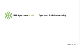 Thumbnail for entry Break_1.3___Nils_haustein__Spectrum_Scale_Immutability