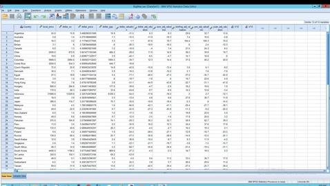 Thumbnail for entry SPSS: Statistics  Visual Binning, Binning