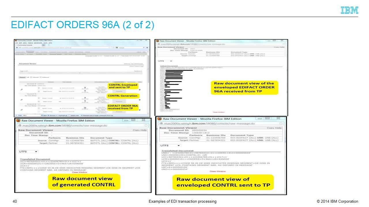 Edifact Orders Sample File