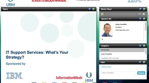 Thumbnail for entry IT Support Services: What's your Strategy?