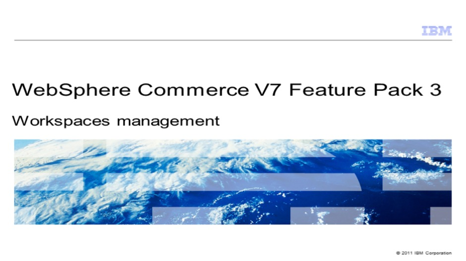 Video Thumbnail For Workspace Management