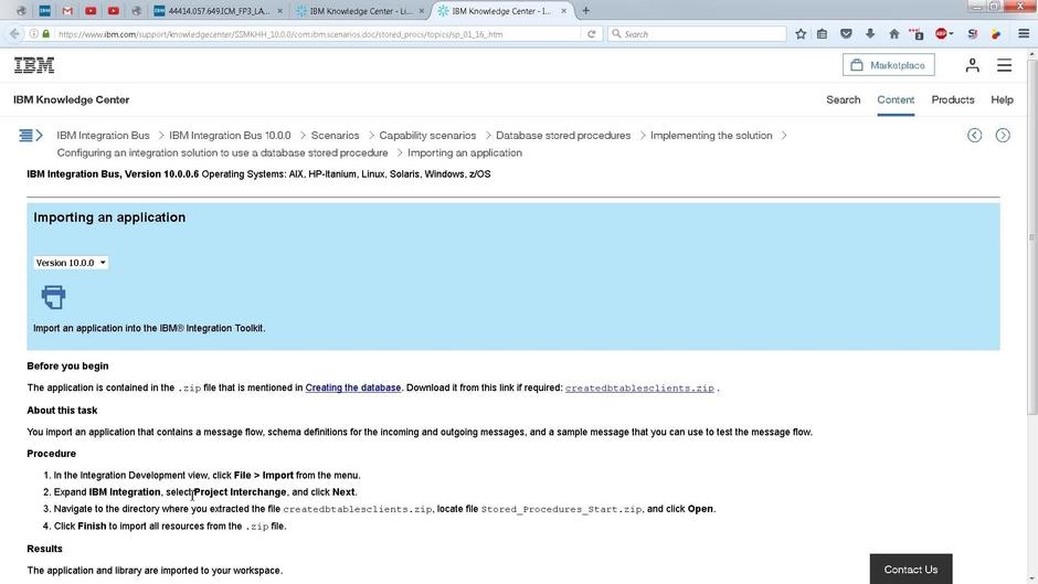 IIB: Project Interchange files, AKA PI File - IBM MediaCenter