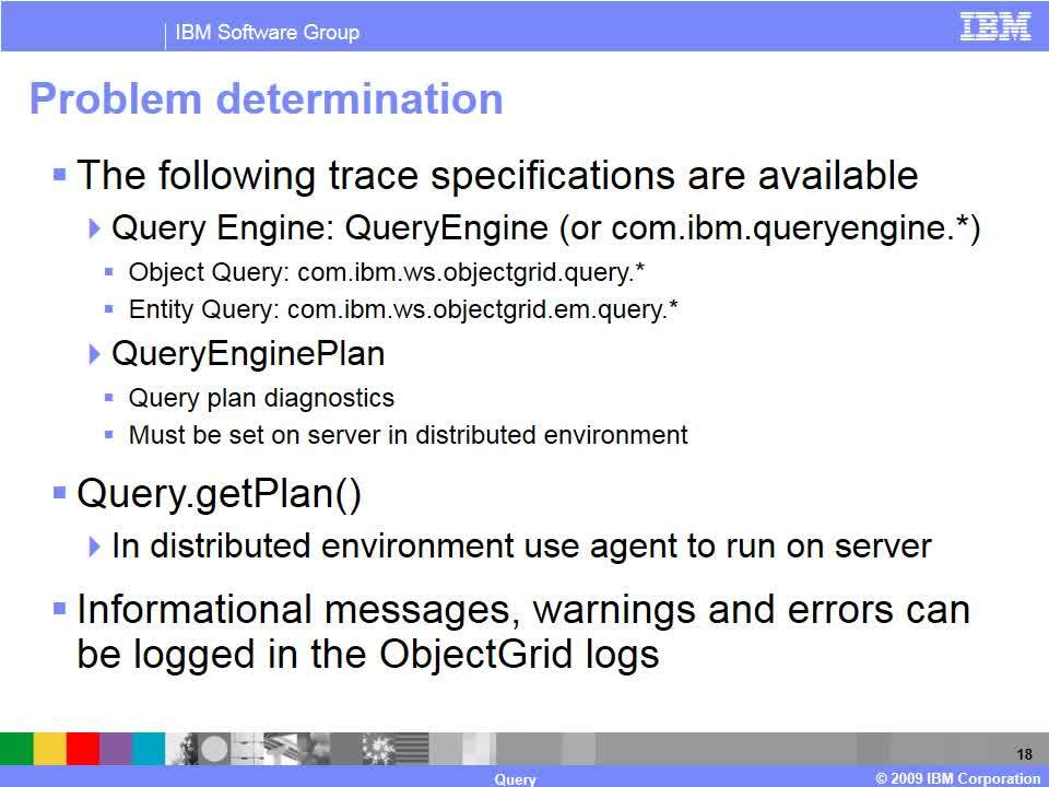 Query - IBM MediaCenter