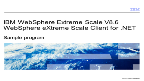 Thumbnail for entry Sample program
