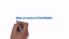 Thumbnail for entry Main screens for Click mobile