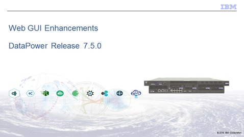 Thumbnail for entry WebGUI Enhancements