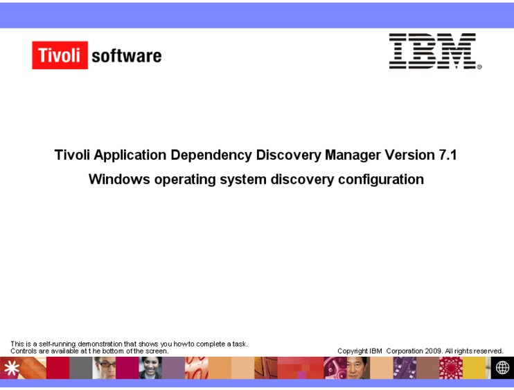 windows operating system discovery configuration ibm mediacenter