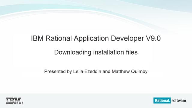 Download ibm rad 7. 5.