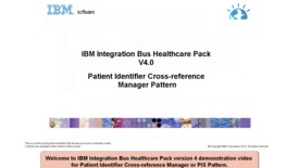 Thumbnail for entry Patient Identifier Cross-reference Manager pattern