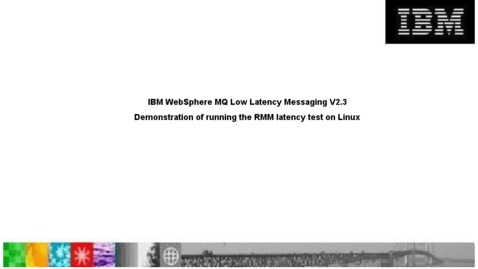 Thumbnail for entry Demonstration of running the RMM latency test on Linux