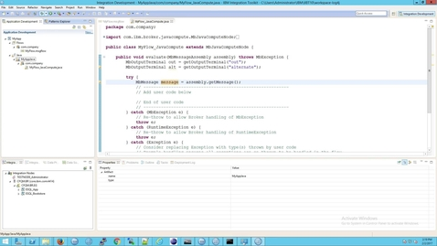 Thumbnail for entry IIB: How to set up Log4j and log4j.properties in IIB (without the IAM3 support pack)