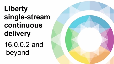 Thumbnail for entry 16.0.0.2+: Liberty single-stream continuous delivery