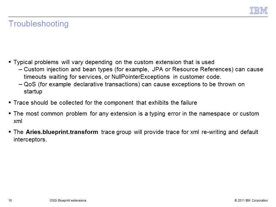Osgi blueprint extensions ibm mediacenter thumbnail for summary malvernweather Image collections