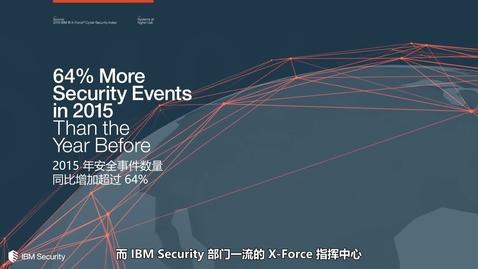 Thumbnail for entry IBM X-Force 指挥中心与外包安全服务