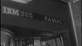 Thumbnail for entry (1958)  RAMACADE - IBM Newsfilm (81-376)