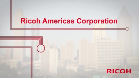 Thumbnail for entry 3_TS012612 - Ricoh Americas Corp - IBM 存储客户参考案例视频