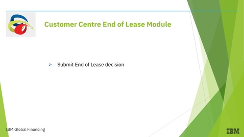 Thumbnail for entry How to Electronically Submit End of Lease Decisions