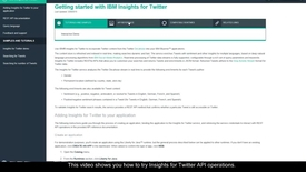 How to Try Insights for Twitter API Operations on Bluemix