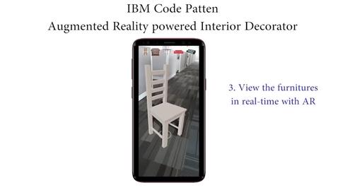 Thumbnail for entry 具备增强现实(AR)功能的室内装饰器