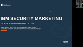 Thumbnail for entry IBM Security UKI 2019 Marketing Plans Webinar