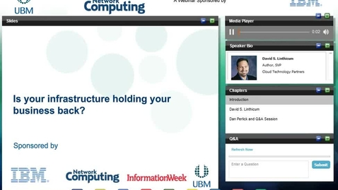Thumbnail for entry Optimize your infrastructure to increase IT performance and minimize risk