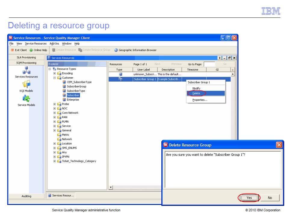 Administrative function - IBM MediaCenter